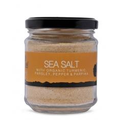 Meraki sea salt with organic turmeric,parsley,pepper & paprika 220gr