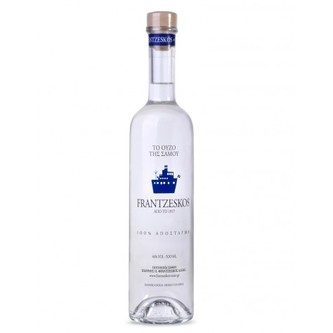 Frantzeskos ouzo 500ml - 100% distilled