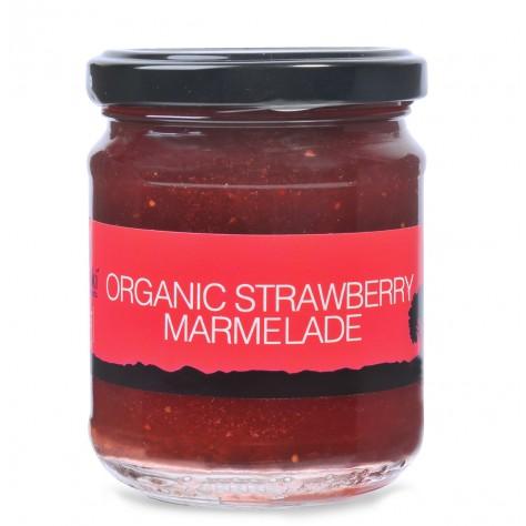 Βιολογική μαρμελάδα φράουλα 220gr