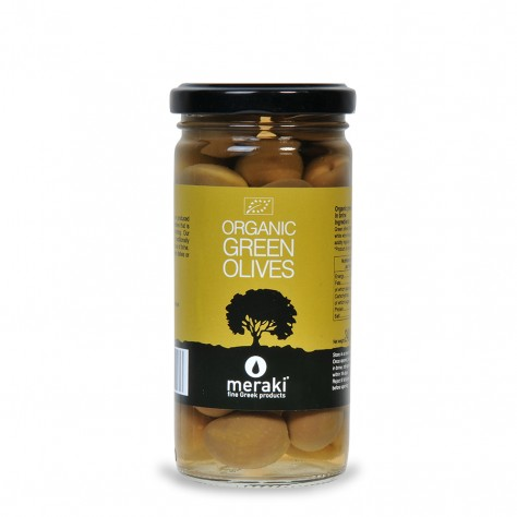 Organic Green Olives