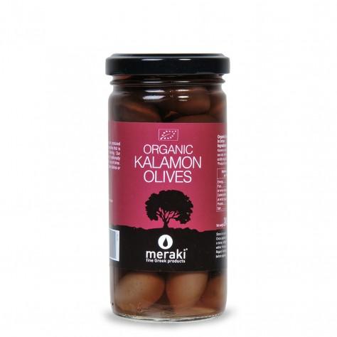 Organic Kalamon Olives